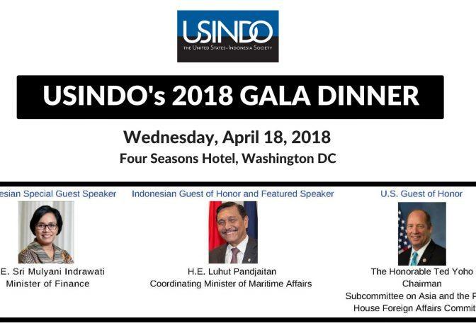 USINDO 2018 Gala Dinner